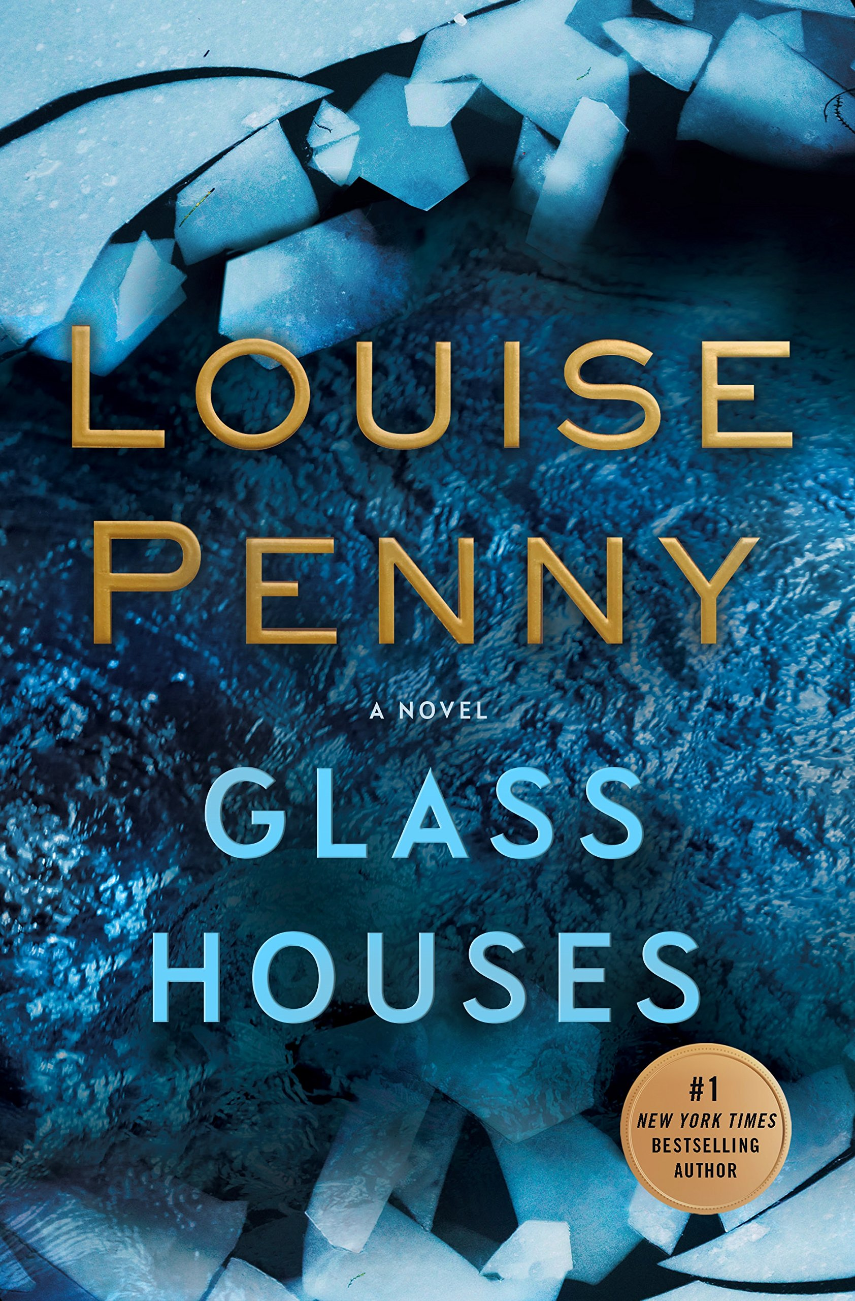Glass Houses by Louise Penny (cover)