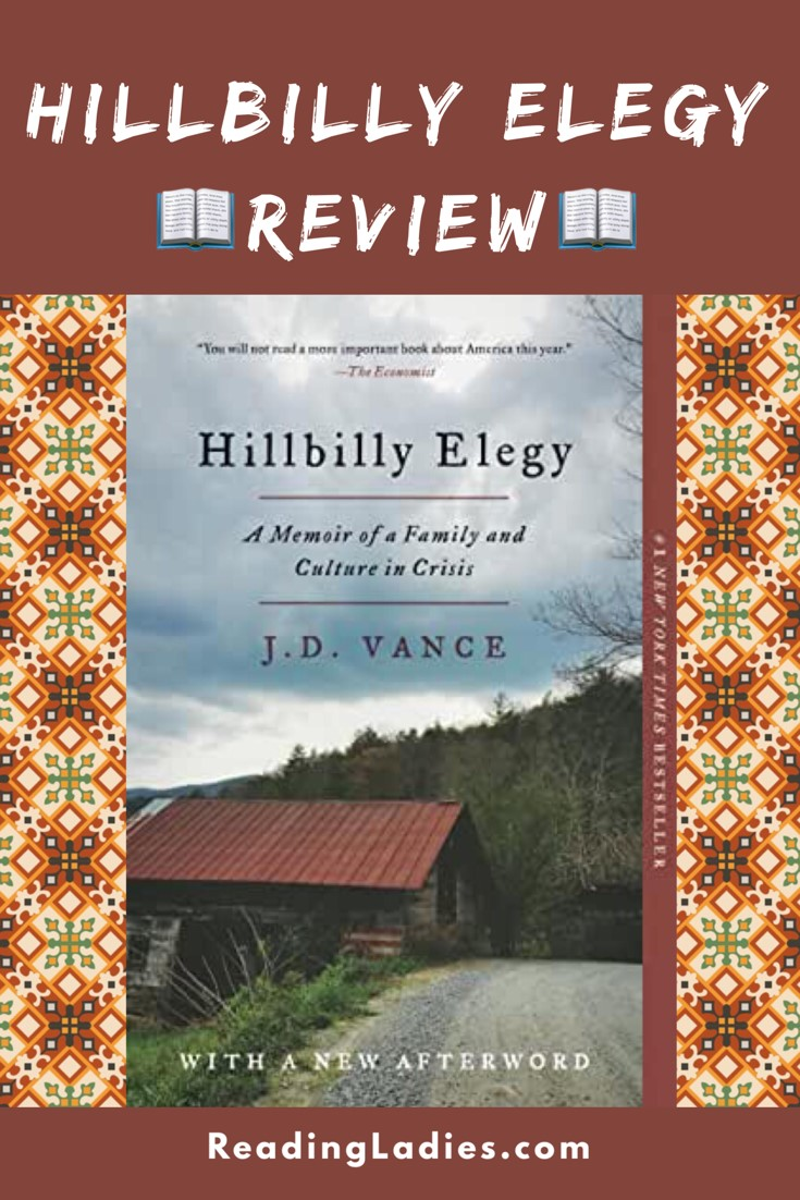 Hillbilly Elegy by J.D. Vance (cover)