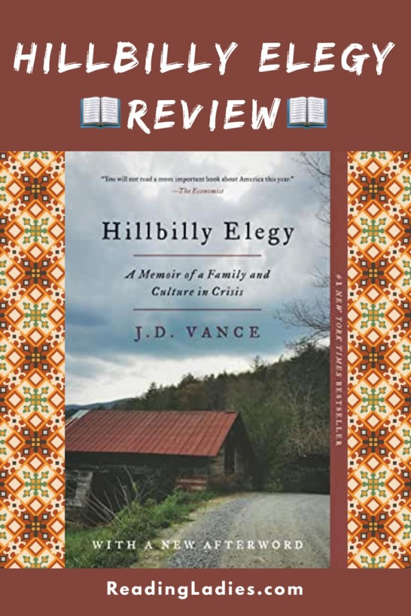 Hillbilly Elegy by J.D. Vance (cover)