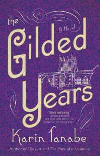 The Gilded Years cover (purple background with white wording and a white image of a university style building)