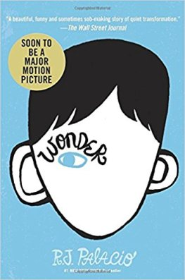 Wonder by R.J. Alacio
