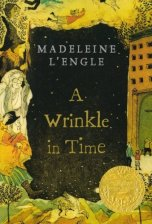 A Wrinkle in Time by Madeleine L'Engle (cover)