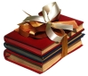 gift stack of books