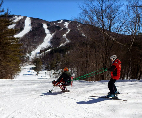 handicap snowboarding