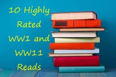 books graphic.jeg top 10 highly rated WW1 & WW11 reads