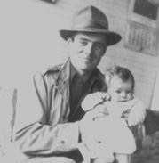 Dad and me as a baby