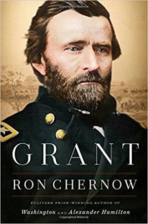 Grant by Ron Chernow (cover) Image: portrait of Grant in uniform