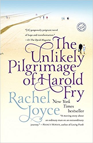 The Unlikely Pilgrimmage of Harold Fry by Rachel Joyce (cover)