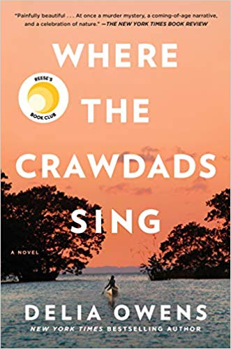 Where the Crawdads Sing by Delia Owens (cover)