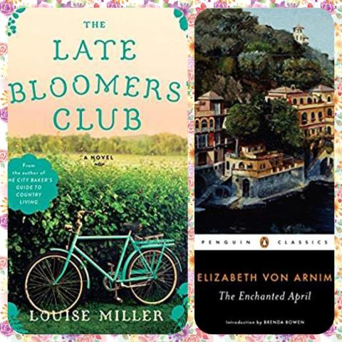 enchanted april and late bloomers' club