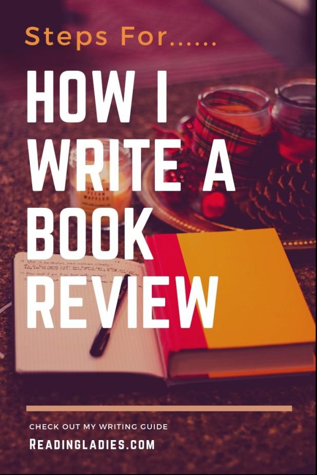 how i write a book review