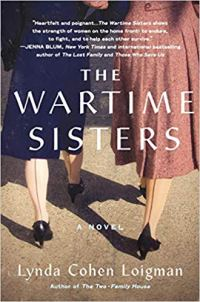 The Wartime Sisters by Lynda Cohen Loigman (cover)