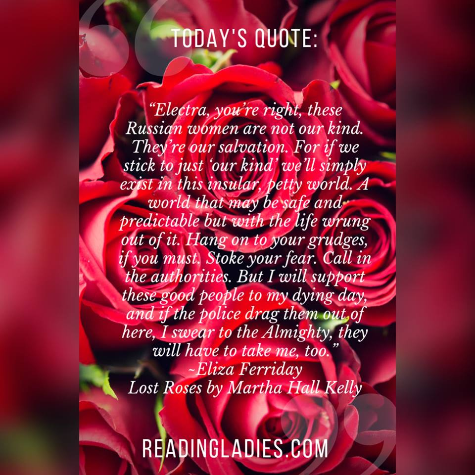 Lost Roses quote