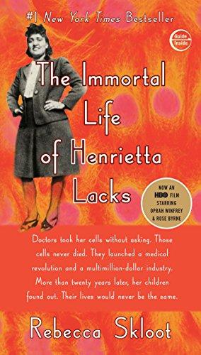 The Immortal Life of Henietta Lacks by Rebecca Skloot (cover)