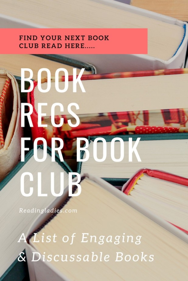 Book Recommendations for book club
