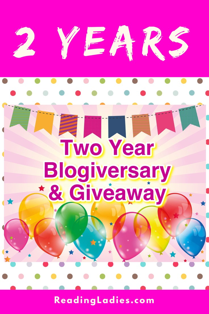 2 year blogiversary and giveaway