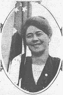 Activist Annie Clements 1914