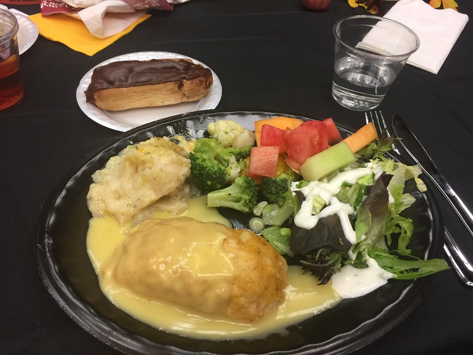 author event lunch