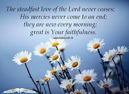 Steadfast love of the lord