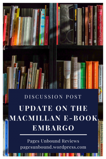 Macmillan Ebook Embargo Update