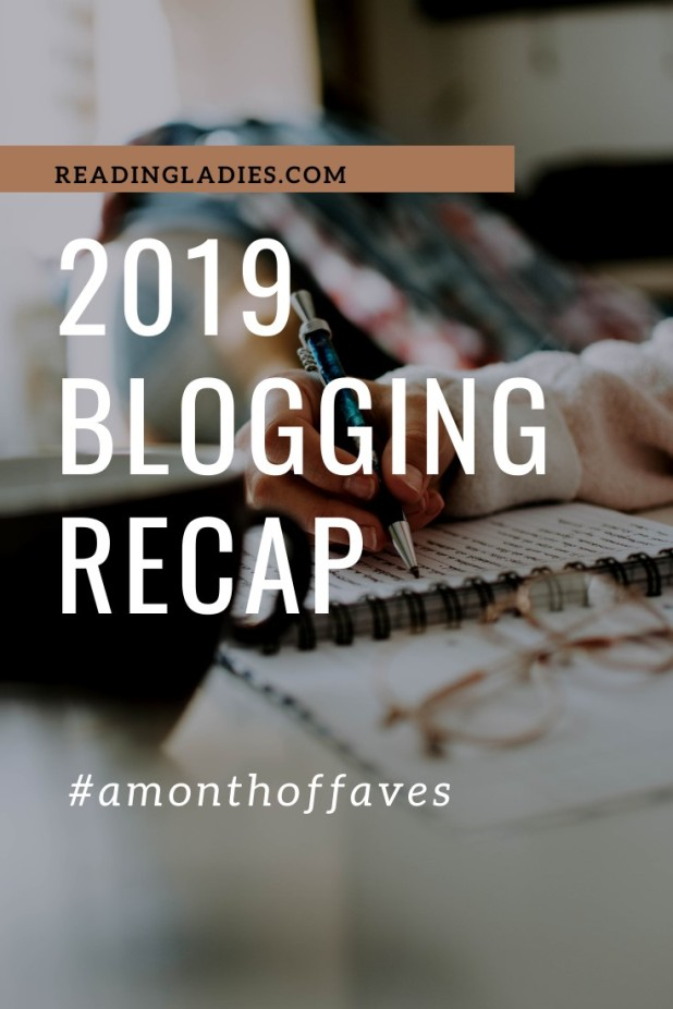 2019 blogging recap