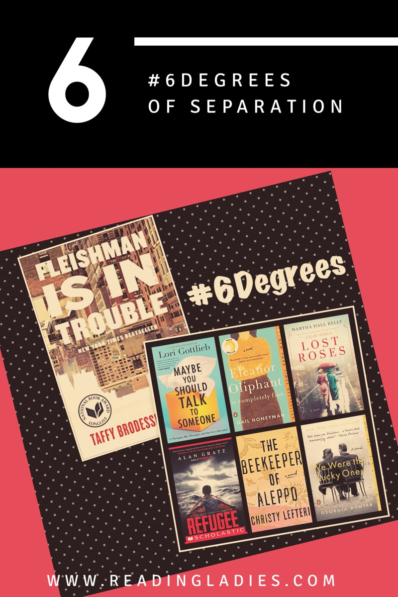 #6Degrees of Separation book covers