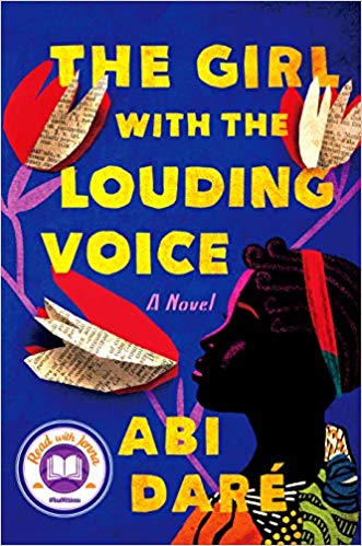 The Girl With the Louding Voice by Abi Dare (cover)