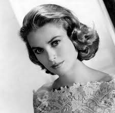 Hollywood Actress and Princess of Monaco, Grace Kelly (head shot)