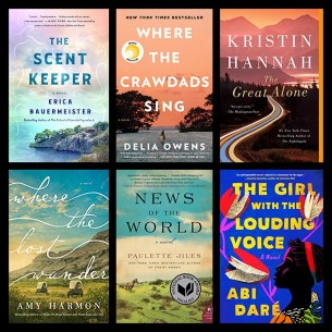 Six Degrees Collage of Book Covers