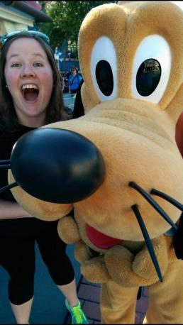 Abby and Goofy