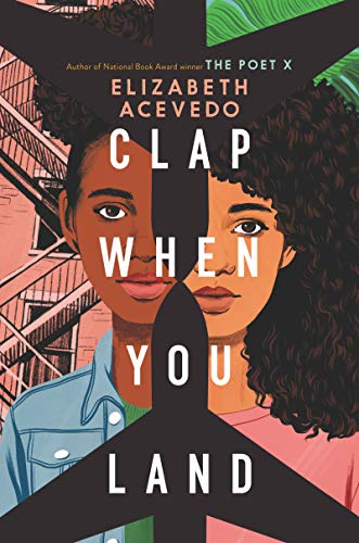 Clap When You Land by Elizabeth Acevedo (cover)