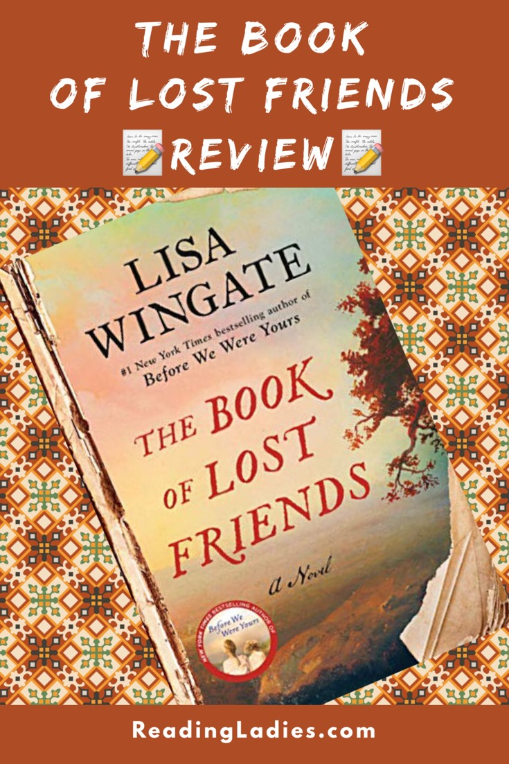 The Book of Lost Friends by Lisa Wingate (cover)