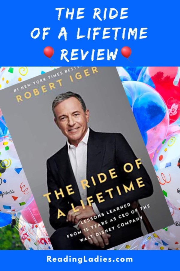 The Ride of a Lifetime by Robert Iger (cover)