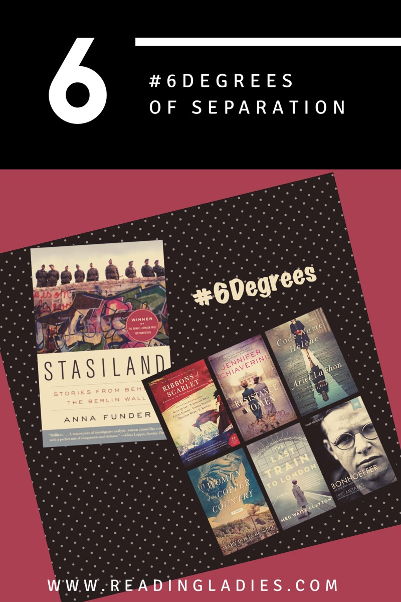 #6Degrees of Separation collage of covers
