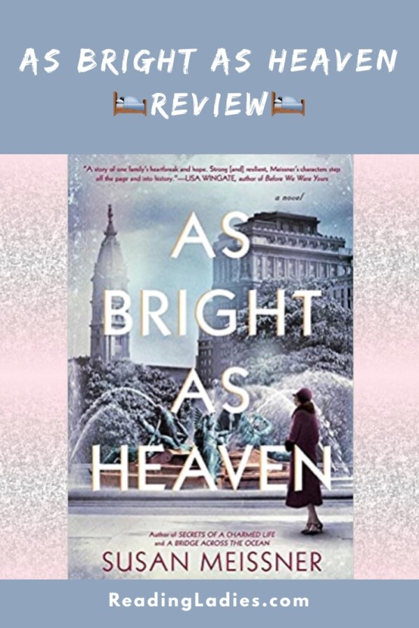 As Bright As Heaven by Susan Meissner (cover)