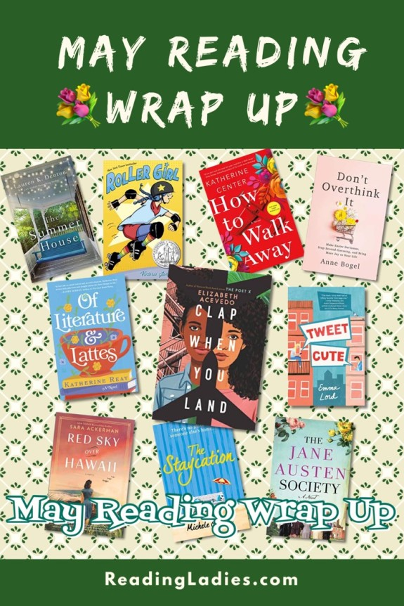May Reading Wrap Up (collage of book covers)