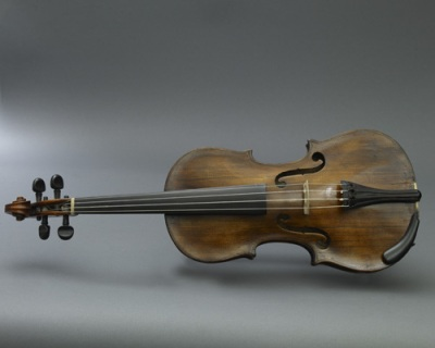 an old fiddle
