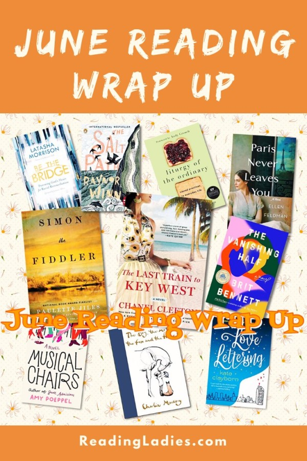 June Reading Wrap Up (image: a collage of book covers listed in this post)