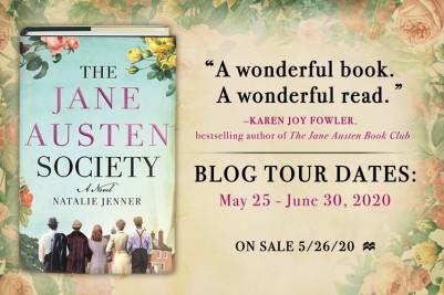 Jane Austen Blog Tour Banner (blurb, tour dates, pub date)