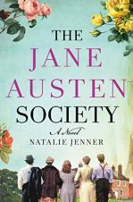 The Jane Austen Society by Natalie Jenner (cover) Image: five people (backs to camera) walk with arms linked