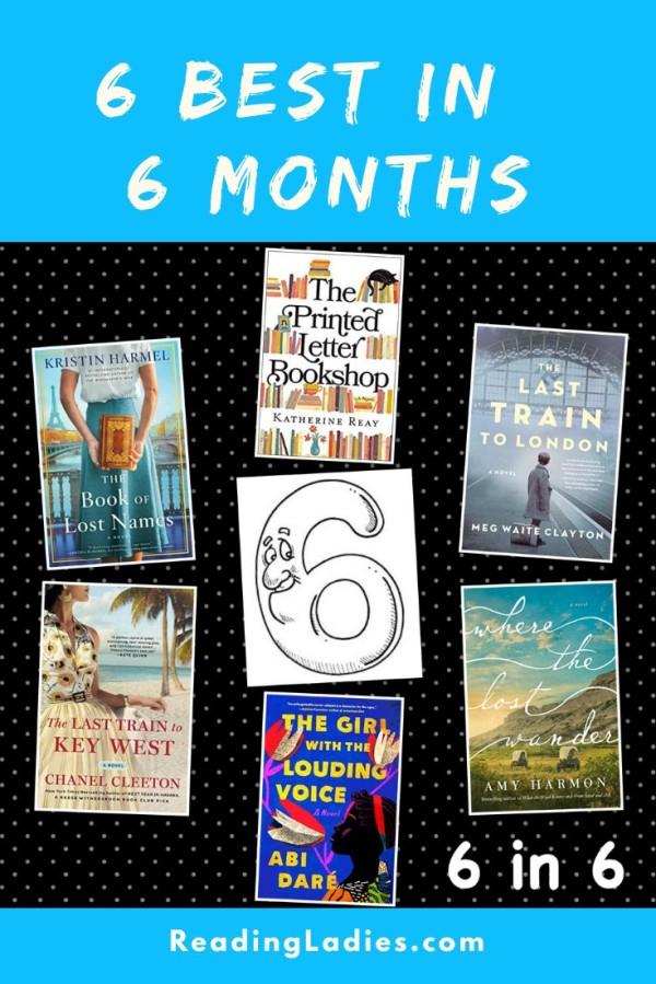 6 best in 6 months (image: a collage of 6 book covers)