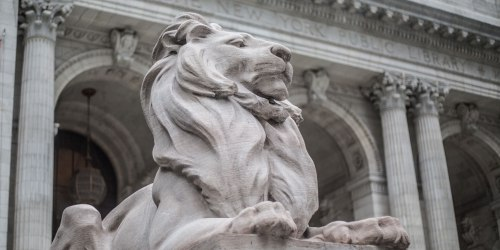 Lion of Fifth Ave (closeup)