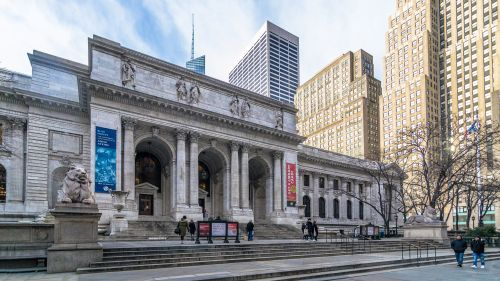 NYC Public Library (present day)