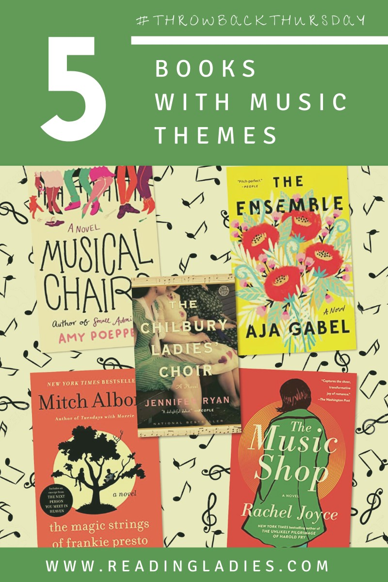 5 Books With Music Themes (Image: collage of covers)