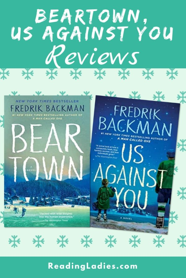 Beartown and Us Against You by Fredrik Backman (covers)