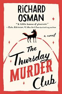 The Thursday Murder Club by Richard Osman (cover) Image: black and red lettering