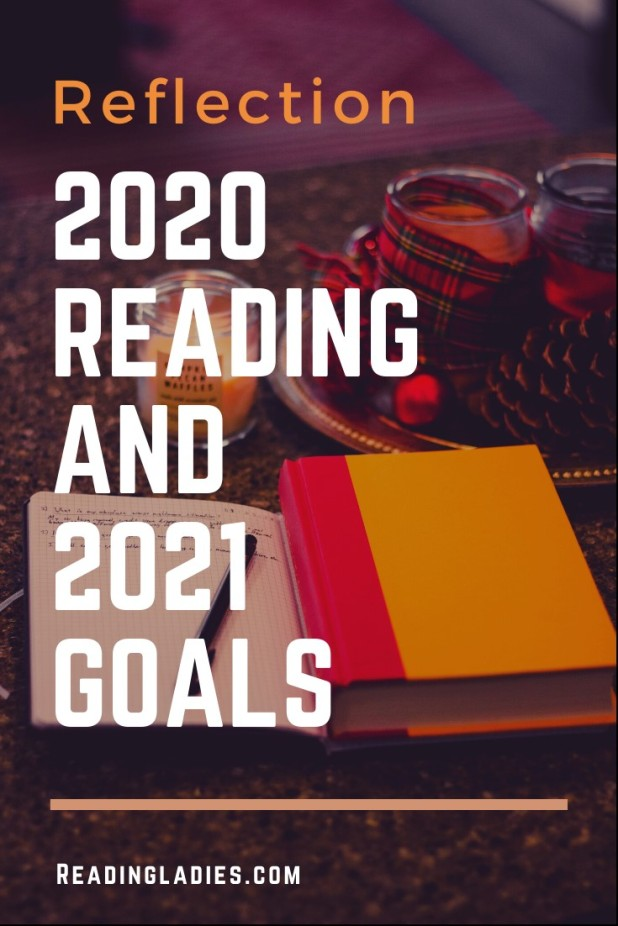 Reflection: 2020 Reading and 2021 Goals (an open journal, a pen, a book, and a candle)
