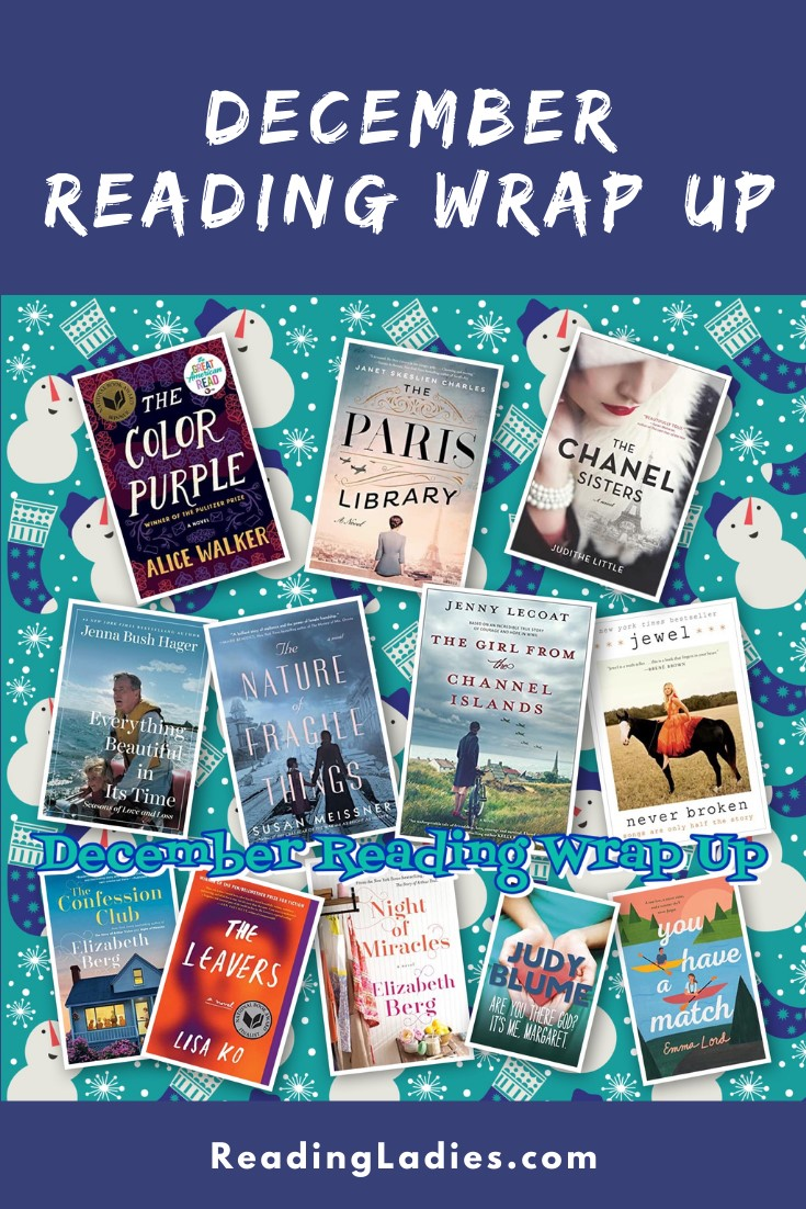 December 2020 Reading Wrap Up (collage of book covers)