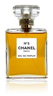 Chanel No 5 perfume