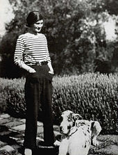 Coco Chanel in 1928